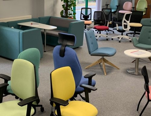 New chairs for the office